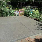 Pea Gravel Exposed Aggregate Patio In Davis