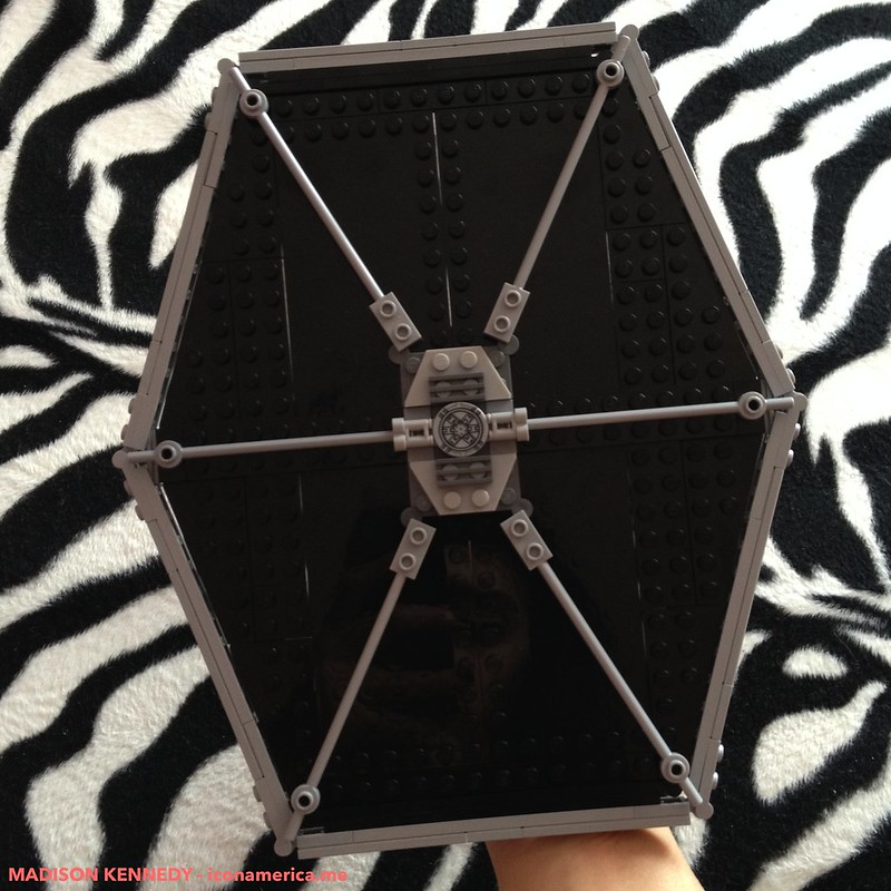 Building my Lego TIE Fighter