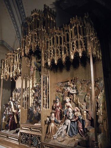 DSCN9324 _ Antwerp Passion Altar, Museum of Votivkirche, Wien, 2012