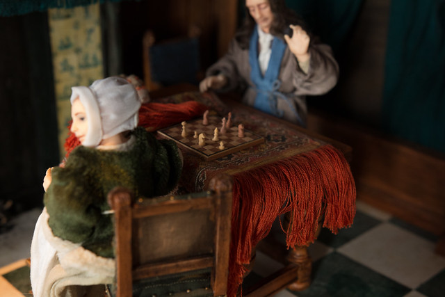 Cornelis De Man Chess Players Roombox