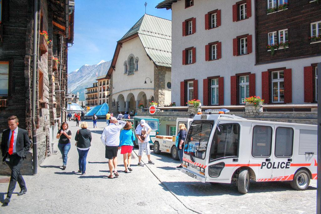 Zermatt, Police, Polizei 瑞士采尔马特