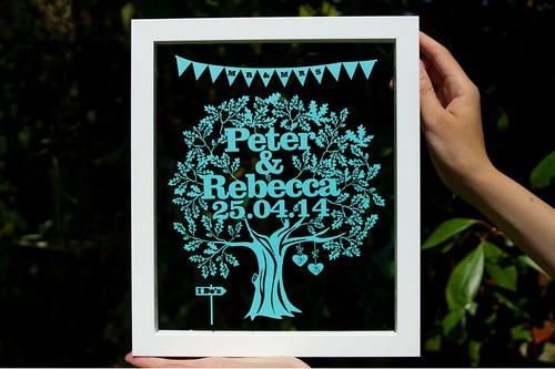 Wedding-Gift-Tree-Papercut