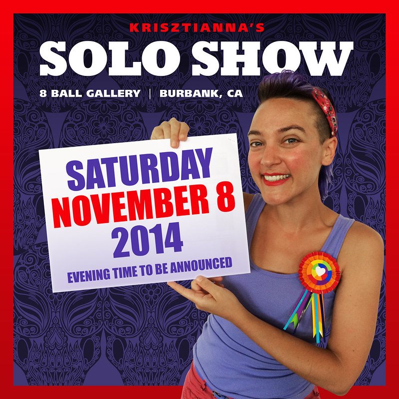 November Solo Show Announcement