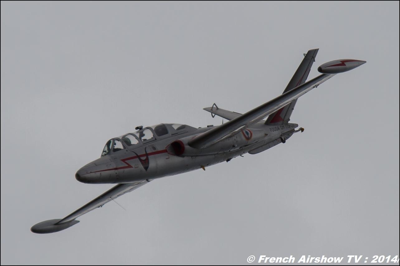 Fouga CM-175 Zéphyr JPO BAN Hyères 2014