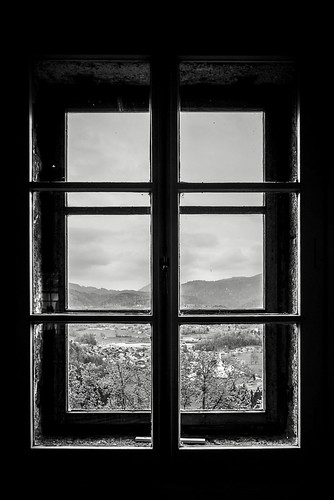 travel blackandwhite bw castle window spring europe sony monotone silouette slovenia bled radovljica