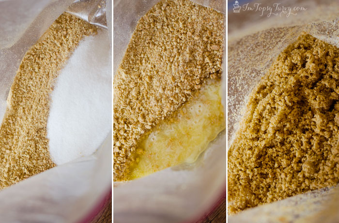 making-graham-cracker-crust