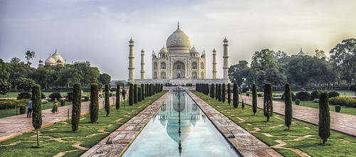 Taj Mahal - Agra, UP, India