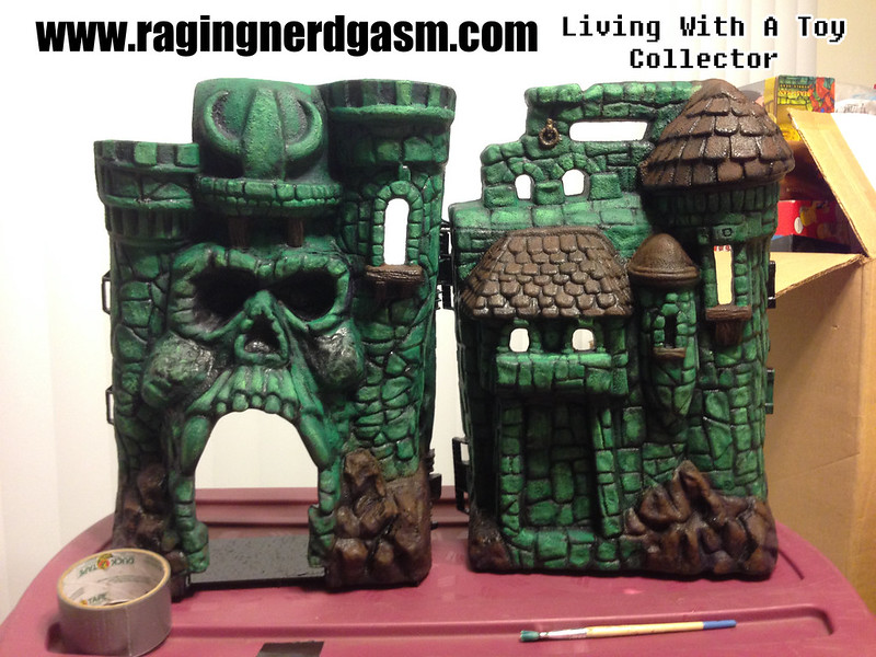 RNG Custom Paint Master of the Universe Castle Gray Skull by Ana Khayos (6)