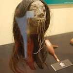 Shrunken head from Peru's Amazon