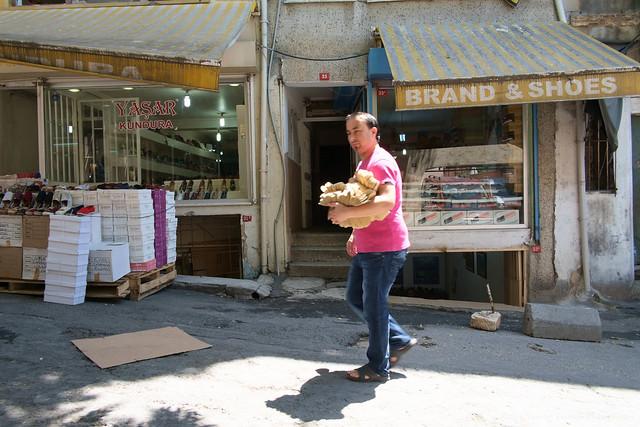 Istanbul - shoe street