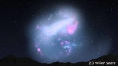 «Хаббл» впервые увидел вращение другой галактики