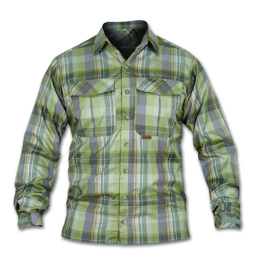 Páramo Men's Katmai Light Shirt Woodland Check
