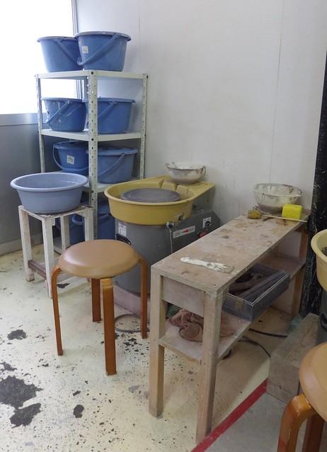 Pottery Lesson in Ebisu