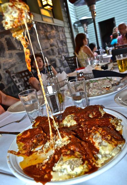 Lasagna - Fenicci's Restaurant Hershey PA