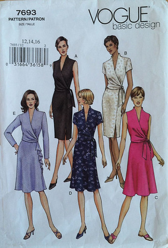 Vogue 7693 pattern env