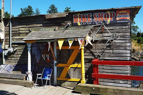 Bike Rental on Saltspring Island, Gulf Islands, British Columbia, Canada