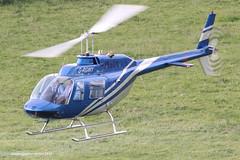 G-RGWY - 1980 build Bell 206B Jet Ranger III, visiting Buxton for Hillhead 2014