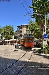 Un tranvía de Madera (Sóller, Mallorca)