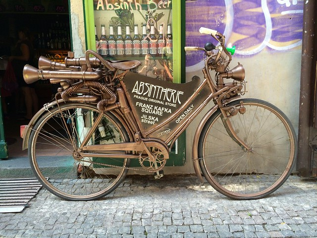 Absintherie steampunk velocipede