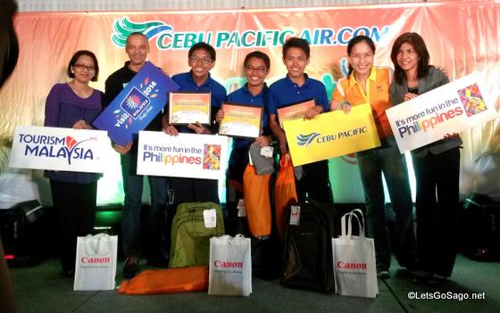 Team Tuklas wins Cebu Pacific Juan For Fun Backpacker Challenge 2014