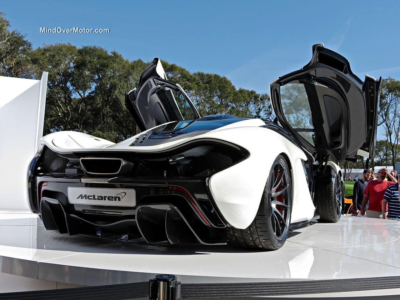 McLaren P1 Amelia Island rear