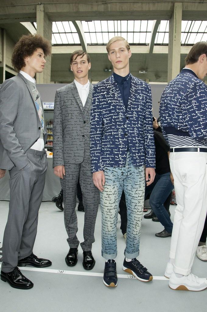 SS15 Paris Dior Homme207_Abiah Hostvedt, Ted LeSueur, Sven de Vries(fashionising.com)