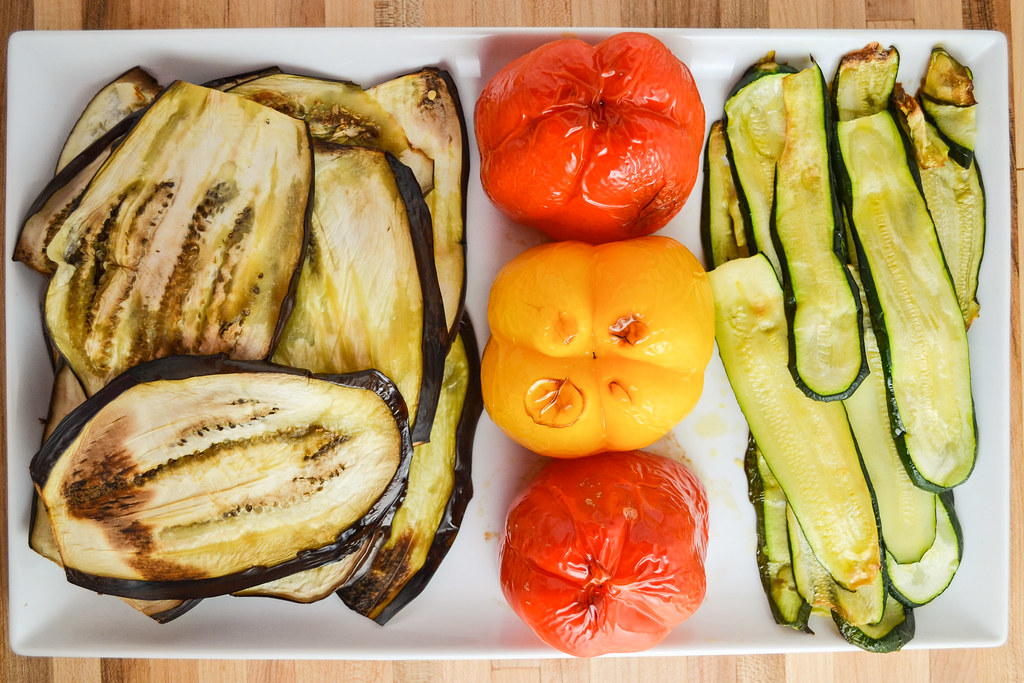 roasted vegetable terrine with goat cheese | things i made today