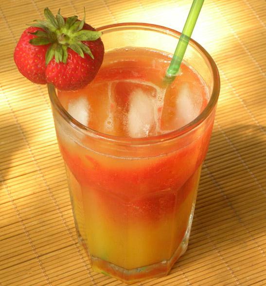 Ipanema mit Erdbeeren