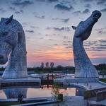 Kelpies Opening Day - First Sunset
