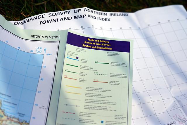 Northern Ireland Ordnance Survey Maps