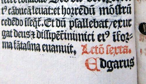 sarum breviary caly leaf1verso catchword