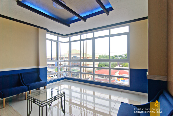 Lounge Area at Hotel Le Duc in Dagupan City