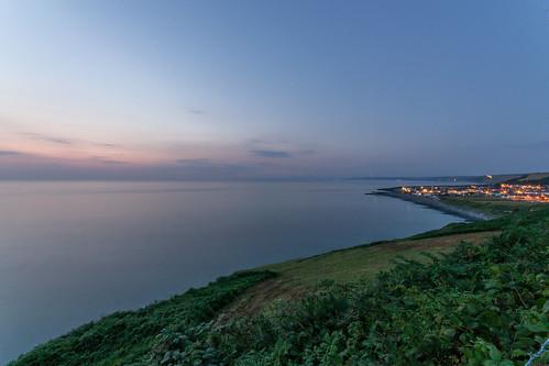 nightphotography coastalpath aberaeron aberaeronview