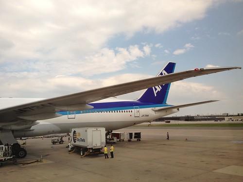 ANA B777-300ER at IAD