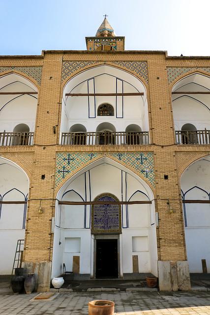 Facade of Bedkhem Church, Isfahan, Iran イスファハン、ベツレヘム教会外観