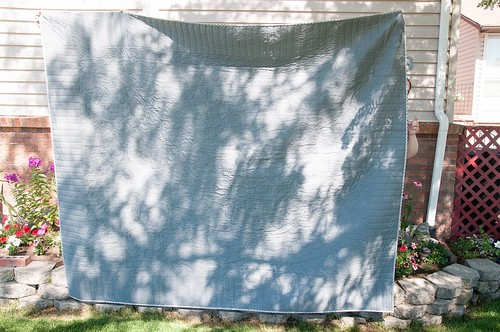 Mom's Garden Fence Quilt
