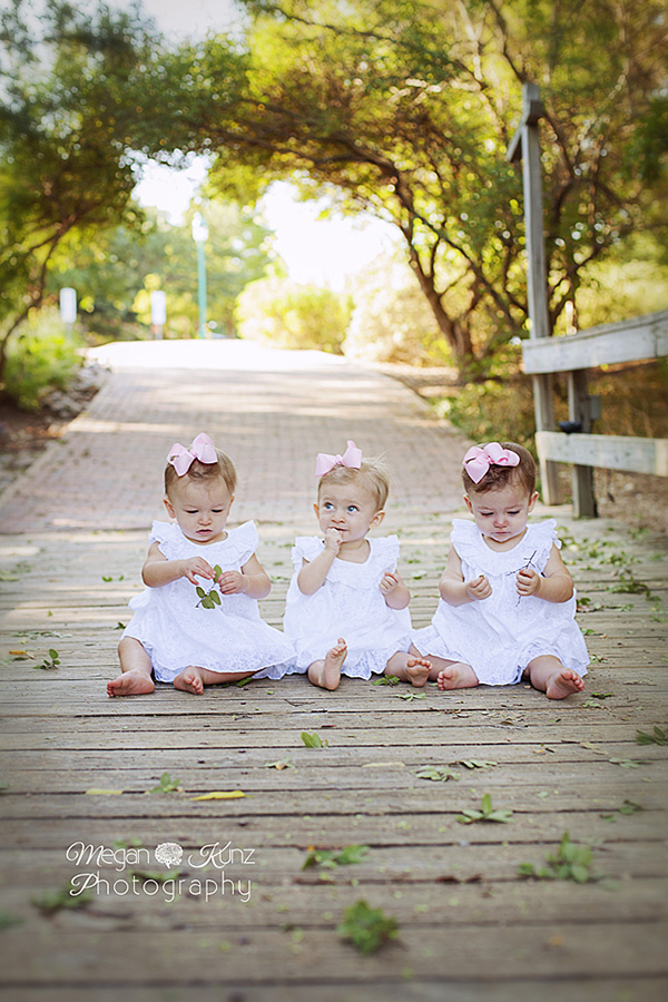 Waco Texas Photographer Megan Kunz Photography Nelson Triplets Aug 2014_3877b