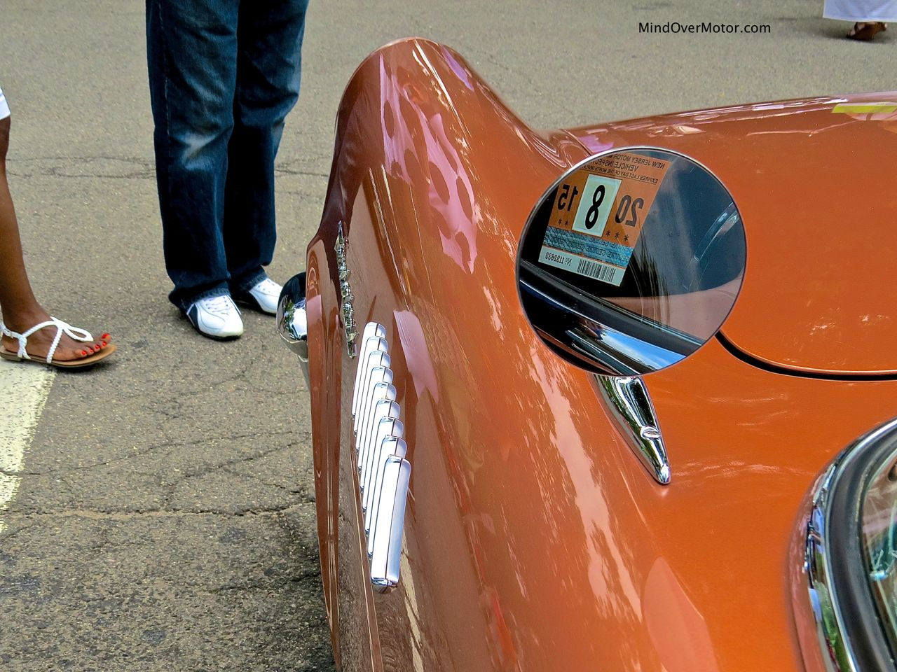 1957 Ford Thunderbird Side Mirror