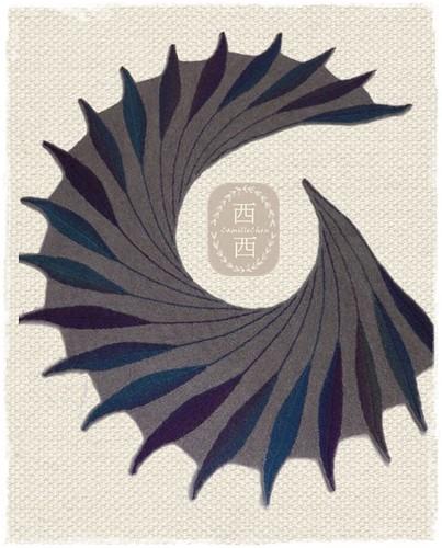 dreambird shawl 01