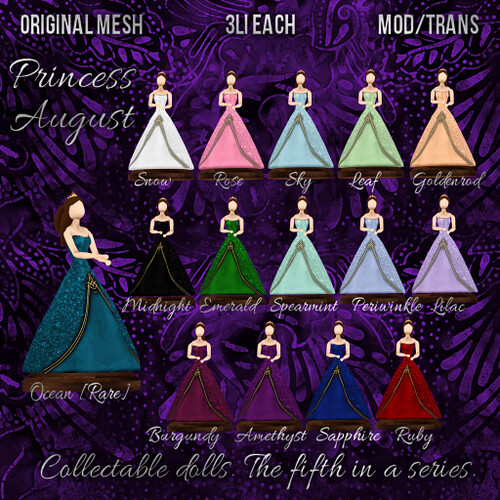 Princess August Dolls