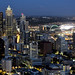 Downtown Seattle Night Skyline [Nikon][D7000][50mm F1.8] by Mayur Kotlikar