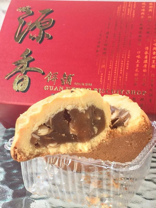 guan heong mooncakes 2014 - BBQ meat bak kua mooncake-002