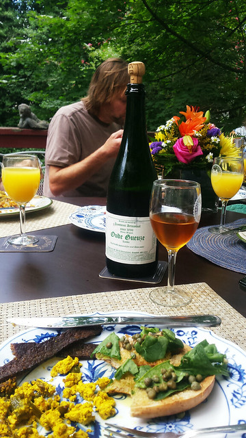 Breakfast with gueuze