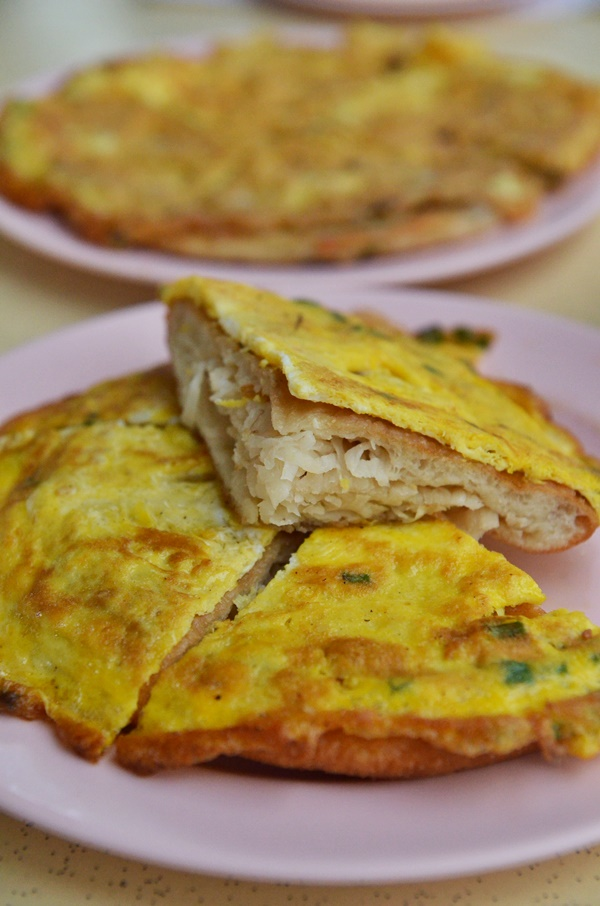 Fried Carrot Cake with Egg