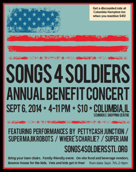 Songs 4 Soldiers 9-6-14
