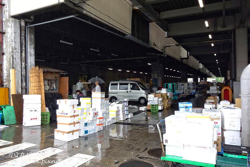 13日本東京築地市場