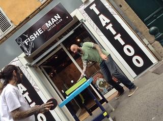 Session pongori fisherman tattoo club