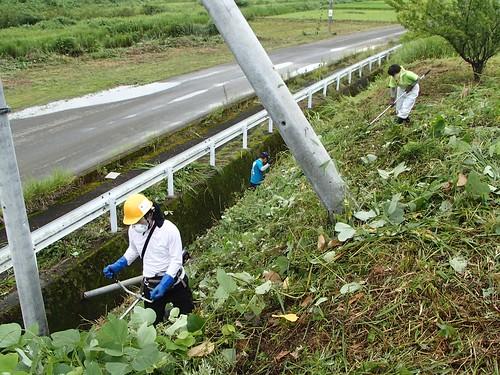 南相馬・小高でボランティア(援人 2014年 0808便)