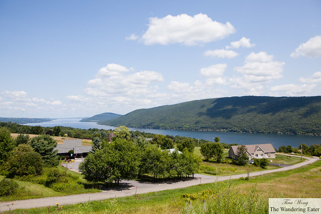 Canadaigua Lake with a view of South Hill