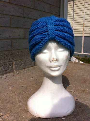 Knit and purl turban